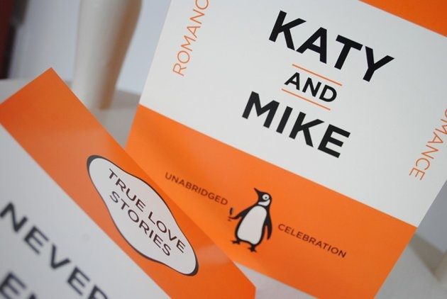 Penguin Book Cover Wedding Invitation Template ~ Best images about wedding invitations on pinterest