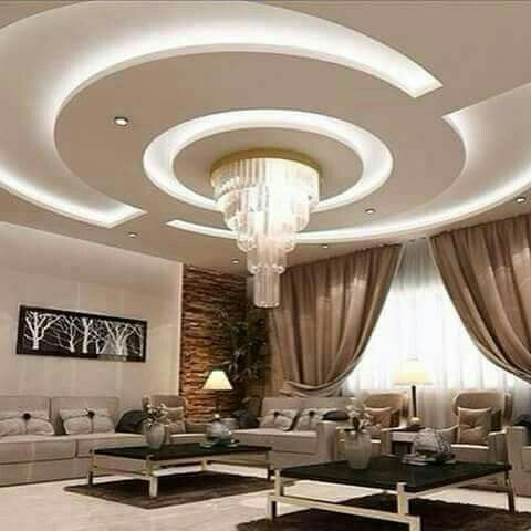 Ceiling Decor, Ceiling Ideas, Ceiling Design, Roof Design, Bedroom  Decorating Ideas, Lighting Ideas, Coffer, Drawing Rooms, Light Led
