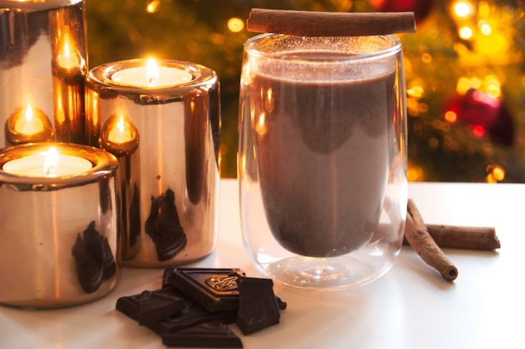 Gezonde warme chocolademelk, say no more!