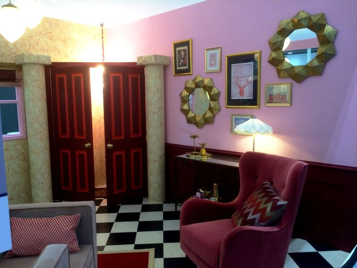 'The Grand Budapest Hotel' Lobby - Grand Designs Live 2016