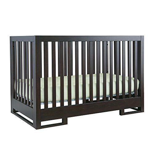 Karla DuBois Baby Coppenhagen Convertible Crib in Chocolate Slate