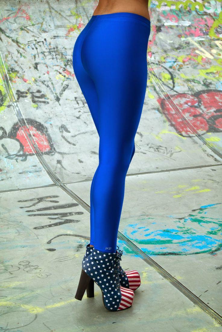 Antigoni with the PCP blue leggings