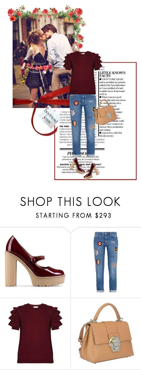 """World kiss day"" by closertocris ❤ liked on Polyvore featuring Free People, RED Valentino, STELLA McCARTNEY and Dolce&Gabbana"