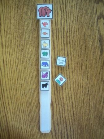 Velcro strips on a paint stir stick for retelling a story, visual schedule, etc -: Bears Stories, Bears Brown, Idea, Polar Bears, Retelling Stories, Visual Schedule, Paintings Stir, Stories Sticks, Brown Bears