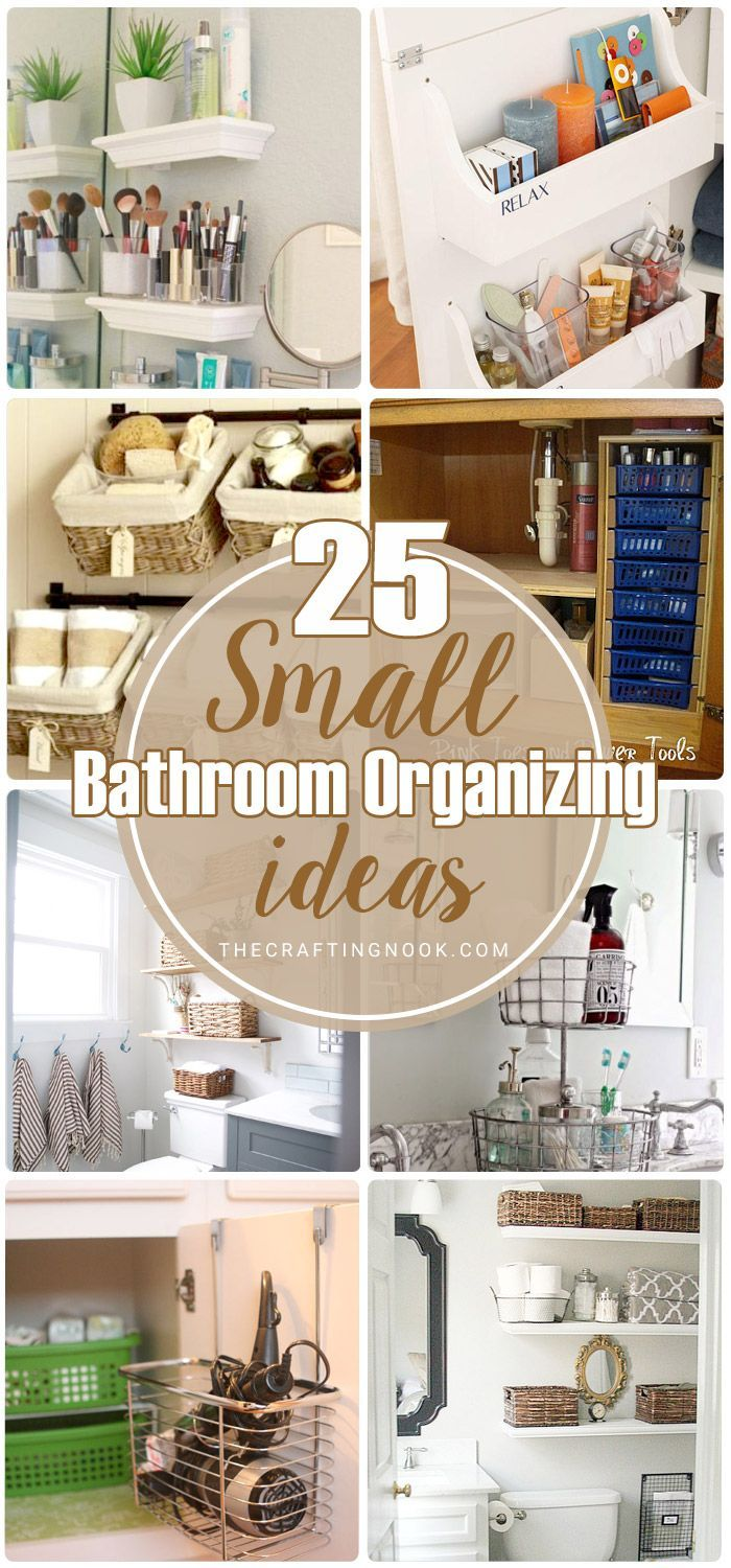 25 Small Bathroom Organizing Ideas Cleaning And Organizing