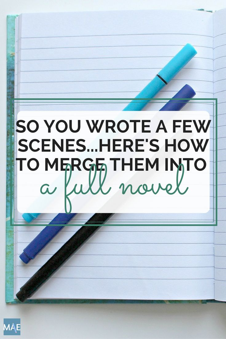If you woke up this morning, read your draft, and realized that although you have the same characters throughout, none of your scenes go together—you're not alone. Learn how to meld these eve…