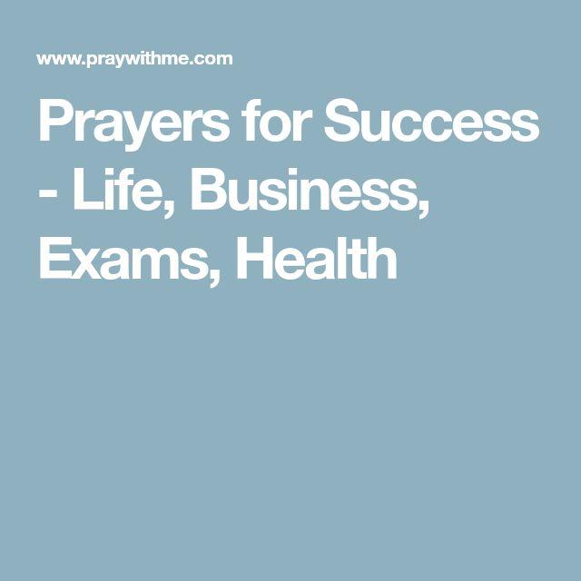 Prayers for Success - Life, Business, Exams, Health