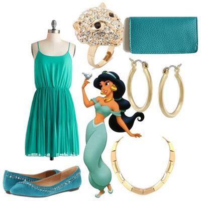How to dress like a Disney princess ~ Jasmine