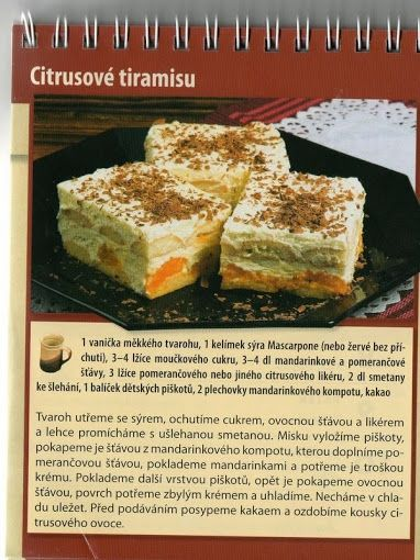 Citrusové tiramusu