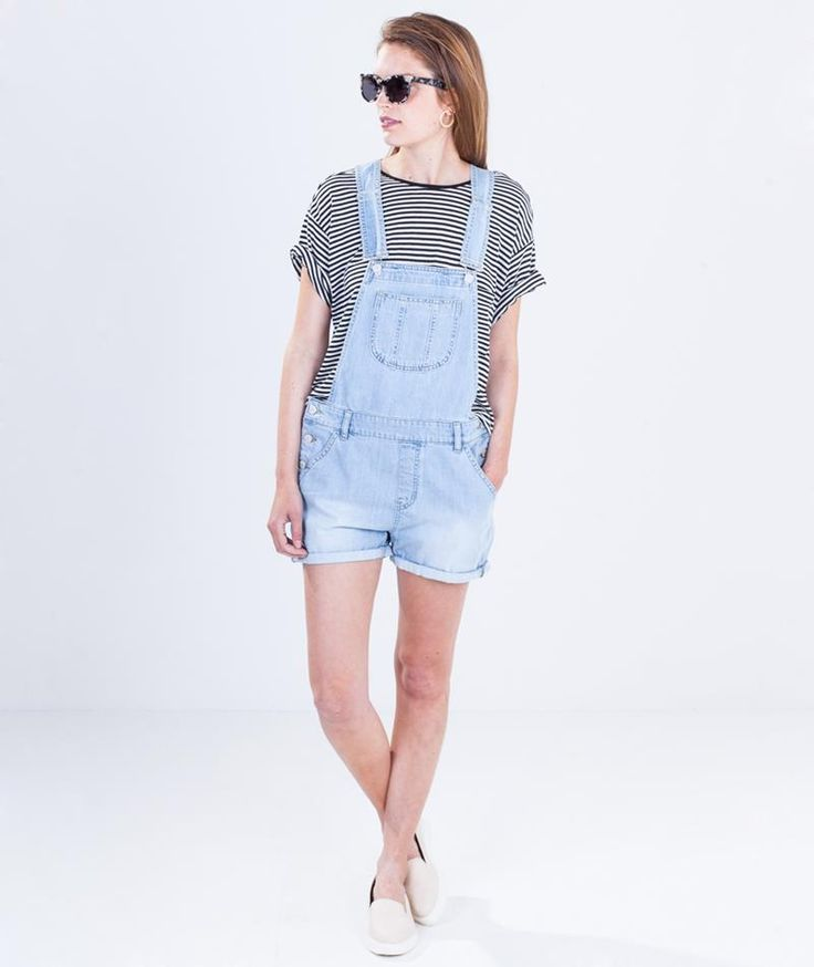 GLOBAL FUNK Dungaree Overall destroy