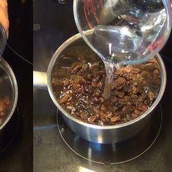 Depurare il fegato con l'acqua dell'uva passa