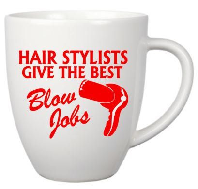 COFFEE CUP,NAUGHTY,Hairdresser,hairstylist,funny quote ...