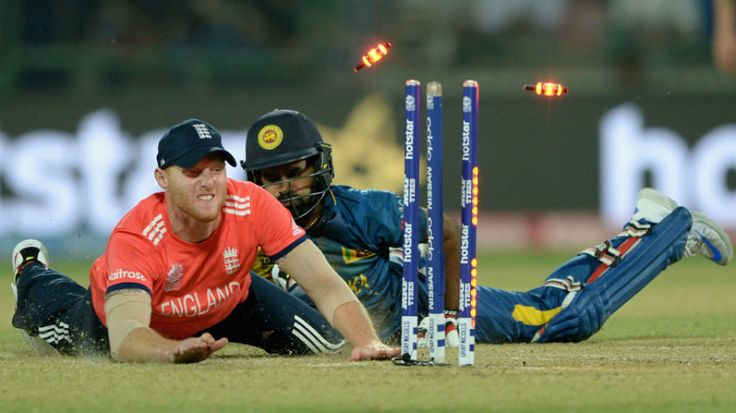 Ben Stokes acrobatically removed Lahiru Thirimanne, England v Sri Lanka, World T20 2016, Group 1, Delhi, March 26, 2016