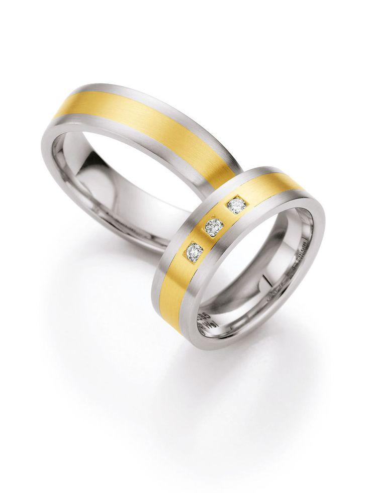 Eheringe weißgold glänzend  91 besten Klassische Eheringe/Trauringe Bilder auf Pinterest ...