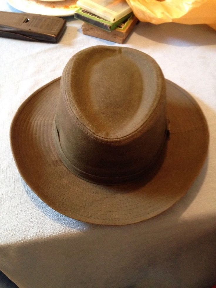 DUCKS UNLIMITED OC Outdoor Cap Olive Green Size Large Canvas Cowboy Wide Brimmed This is a perfect hat for when you need to protect yourself from the sun. #DucksUnlimited #Hat
