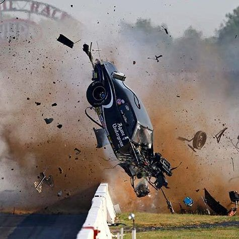Nhra Driver Tim Tindle Walked Away From This Horrific Crash At The