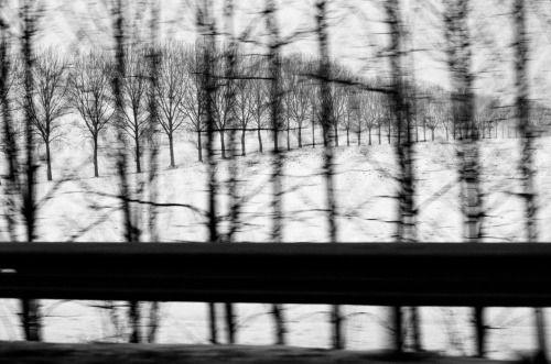 Patrick Zachmann :: Highway A1, France, 1985