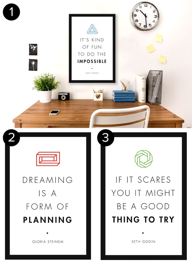9 Free Posters That Will Inspire You Every Day