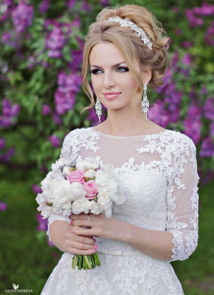 21 Updo Wedding Hairsyles with Glamour - MODwedding