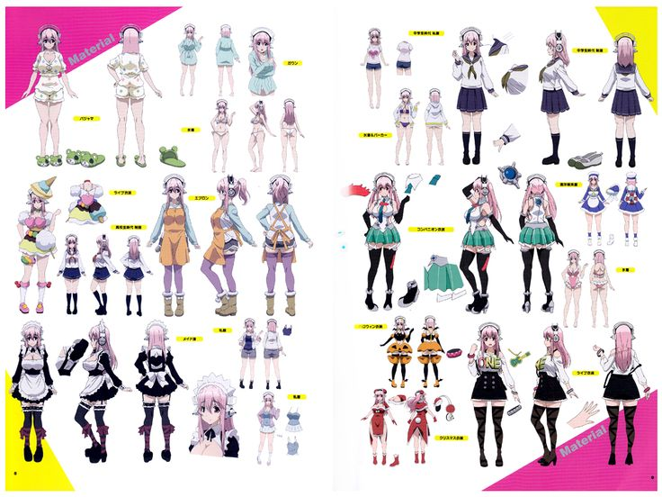Game Animation Character Design Book 2015 : Best super sonico images on pinterest anime crafts
