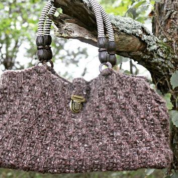 Oat Stitch Handbag – Free Knitting Pattern