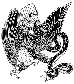 Eagle Vs Dragon Drawing 58 Best images about d...