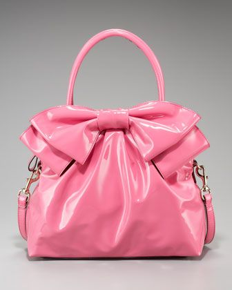 Bow Dome by Valentino at Bergdorf Goodman.  Pinkness!!  $1295: Shoulder Bags, Pink Pur, Fashion Bags, Make A Bows, Pink Bows, Pink Bags, Bows Bags, Valentino Bows, Style Fashion
