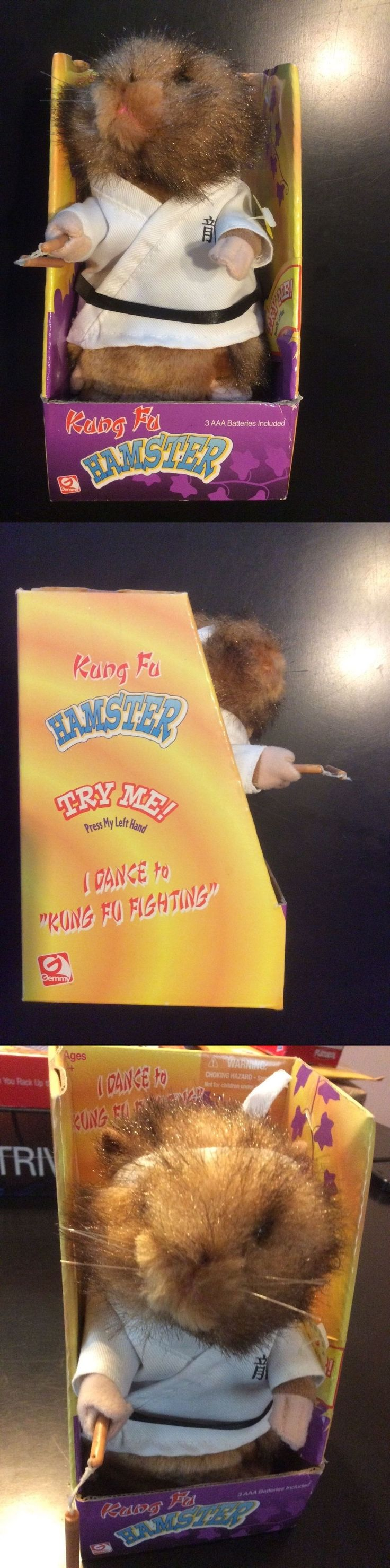 Animals 145942: Gemmy Kung Fu Fighting Hamster Dancing Singing Animated White Robe Toy New -> BUY IT NOW ONLY: $35 on eBay!