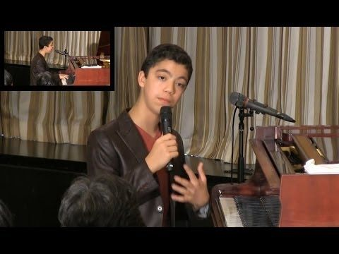 "Ethan Bortnick: ""Speech and performance by 13-year-old prodigy"" - YouTube"
