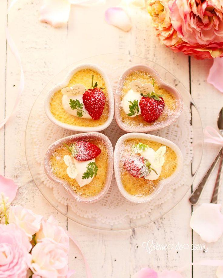 """167 mentions J'aime, 3 commentaires - yuko ♡ᵕ̈*⑅୨୧ (@yuko42408) sur Instagram: """"おはようございます😊  今日はフィナンシェをつくって大量に余った卵黄でつくった物をpostします♪  まあ、簡単に言うとクレーム・ブリュレの焦がさないバージョンみたいな😅…"""""""