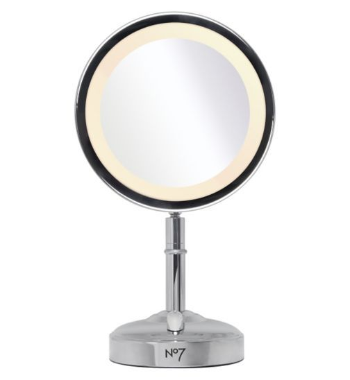 No7 Illuminated Makeup Mirror - Exclusive to Boots - Boots