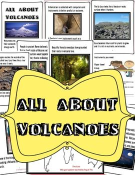 All About Volcanoes is a Unit Study of 55 pages in which you will have a Reader book with awesome and colorful pictures along with an activity pack. After kids read about Volcanoes they complete the activities There are written activities as well as an experiment on gas very simple, design to demonstrate kids how gases work even though we do not see them.You will talk about the Ring of Fire and have them map it on their map.