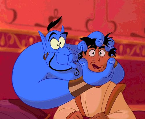He did so much ad-libbing that Aladdin had 16 hours of usable material. | 12 Lengths That Robin Williams Has Gone To Make Us Laugh
