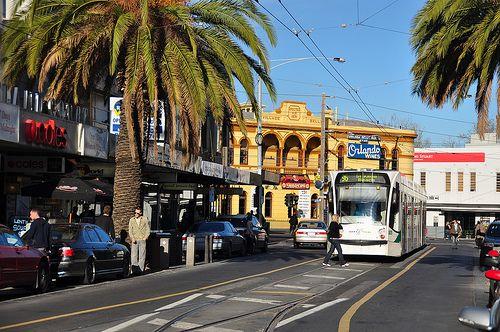 Acland Street, St. Kilda, Melbourne Australia