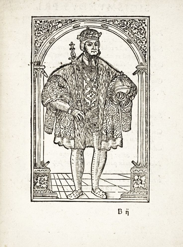 "King Sigismund II Augustus in ""Sigismundi tertii ... Cracoviam ingressus"" by Monogrammist Bn? in Kraków, 1587 after original from about 1548 (PD-art/old), British Library"