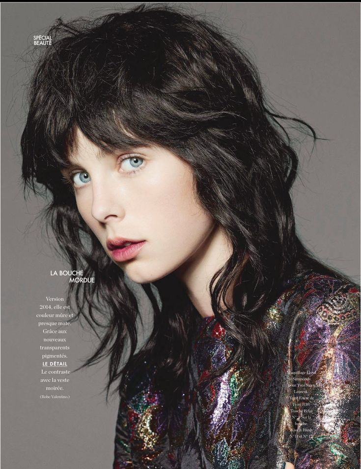 Elle France September 2014 | Edie Campbell por Liz Collins [Editorial]