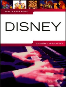 Really Easy Piano Disney Sheet Music Book Toy Story Aladdin Tarzan Enchanted...possibly