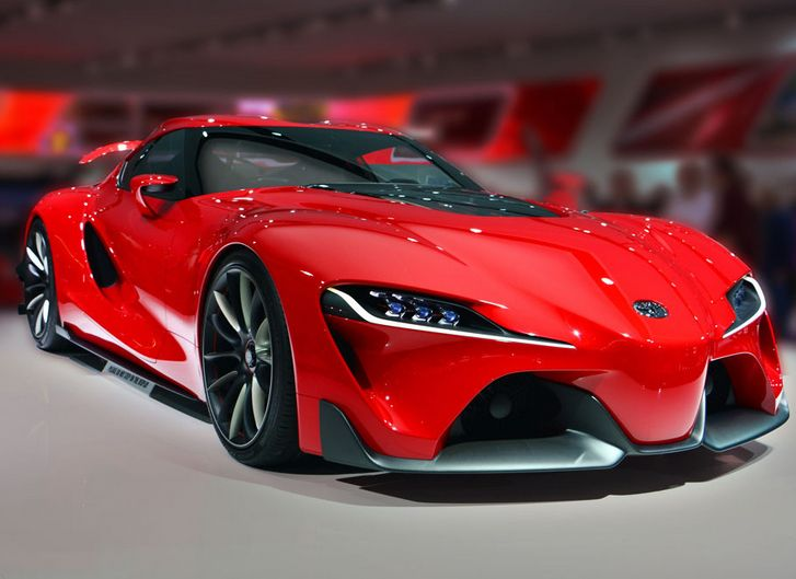 details about poster of toyota ft 1 ft1 concept the next supra super car hd print