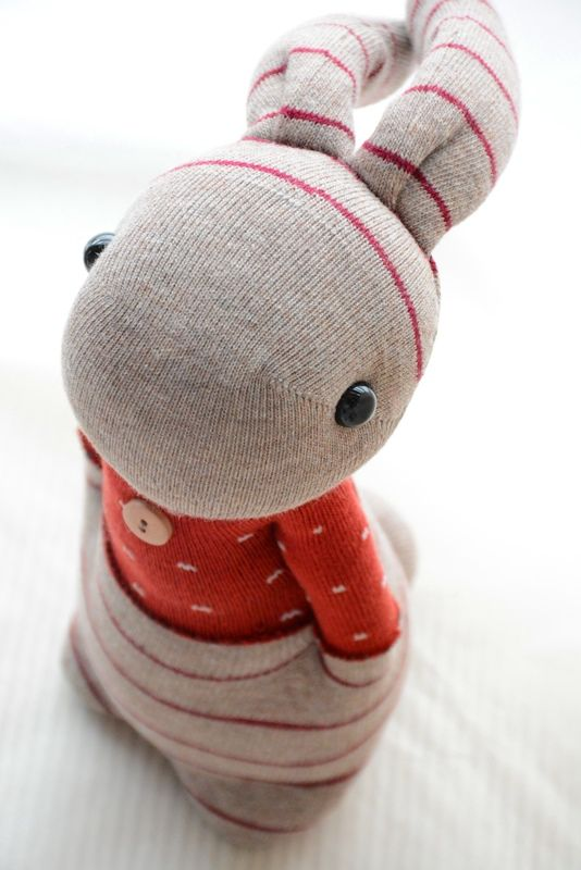 Grace--#206 Sock Domy Rabbit