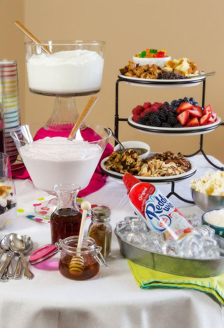 Genial idea para mesa de dulces. Perfecta para tu celebración. #candybar #party
