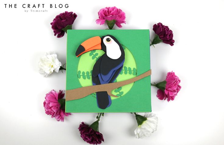 Free Toucan Decoupage Tutorial with... | The Craft Blog