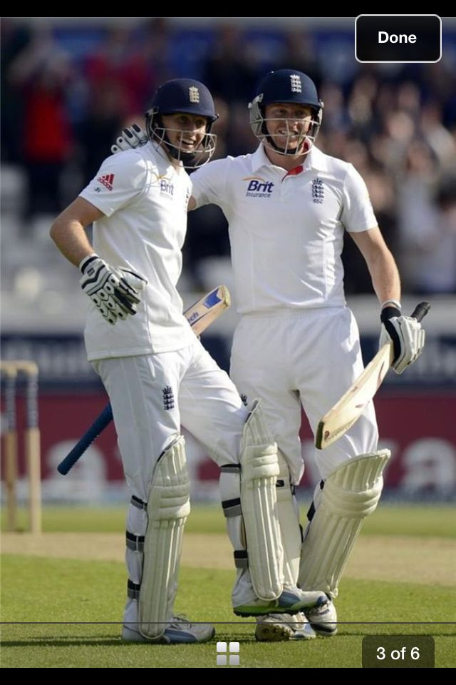 England's Joe Root Getting his First Century