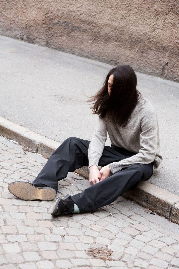 Wind Trouser - Black #HopeStockholm http://hope-sthlm.com/wind-trouser-black