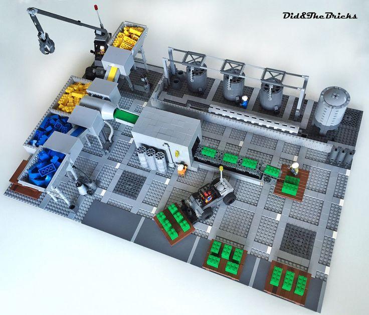 Green bricks Lego factory http://www.flickr.com/photos/101676083@N08/32475587374/