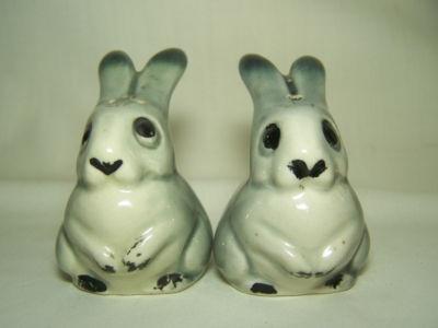 Darbyshire. Grey rabbits