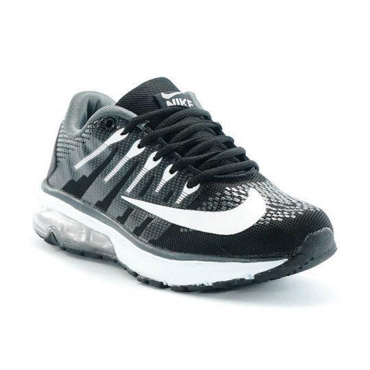 - Casual & Sporty - Material textile breathable mesh - Outsole Rubber Nike Air Max 90 - Paduan warna hitam dan putih - Kualitas grade ori A+