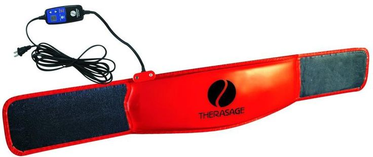 Therasage™ contains our latest advancement in TheraFusionTM Infrared applied science. This therapeutic belt penetrates 200-300 times deeper than conventional he