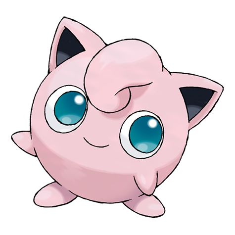 Jigglypuff #039 Type: Normal, Fairy Evolutions: Igglybuff #174, Wigglytuff #040