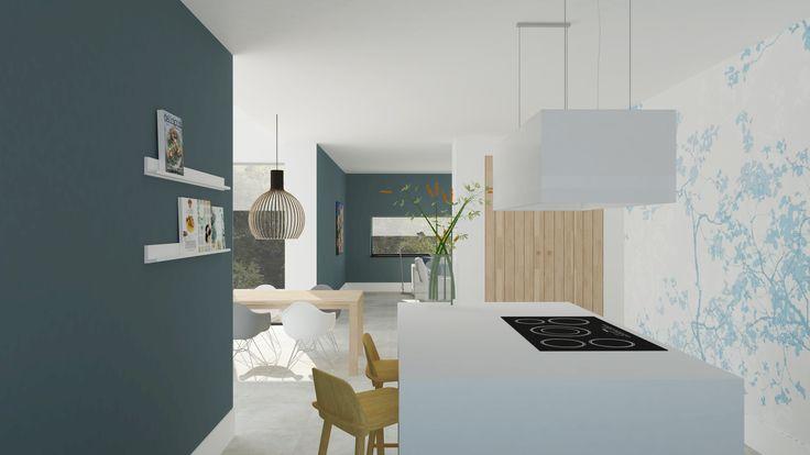 Modern Scandinavisch interieur met kookeiland   Adrianne van Dijken Interieuradvies