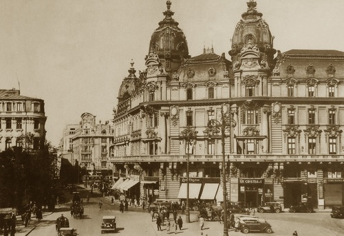 Old photo of our capital, Bucharest